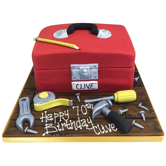 Toolbox Cake - Last minute cakes delivered tomorrow!