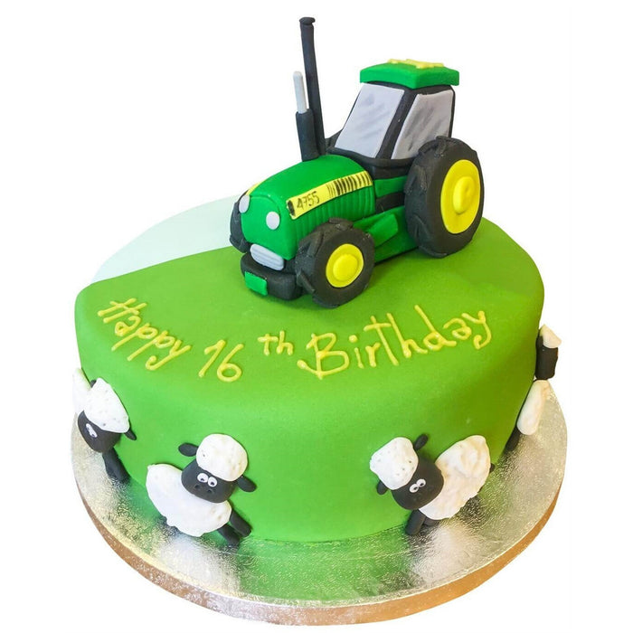 Tractor Cake - Last minute cakes delivered tomorrow!
