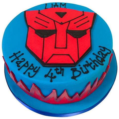 Transformers Cake - Last minute cakes delivered tomorrow!