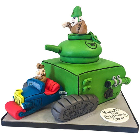 Wacky Races Cake - Last minute cakes delivered tomorrow!