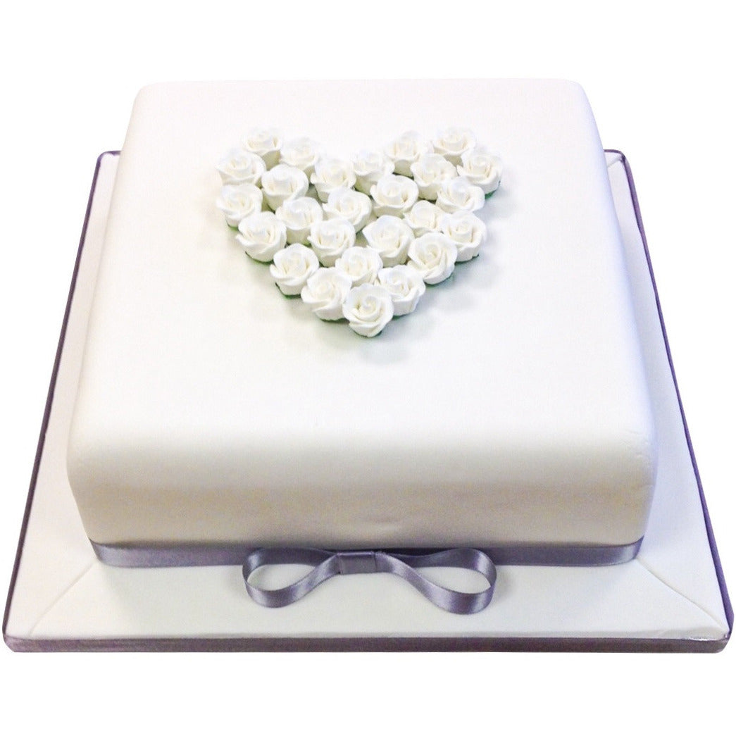 Diamond Wedding Anniversary Cake - Buy Online, Free UK Delivery ...