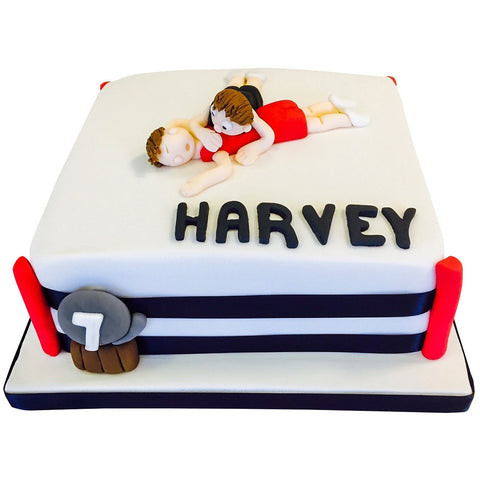 Wrestling Cake - Last minute cakes delivered tomorrow!