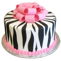 Zebra Cake - Last minute cakes delivered tomorrow!