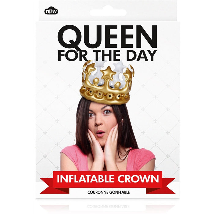 Queen For The Day Inflatable Crown - Last minute cakes delivered tomorrow!