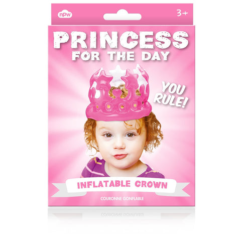 Princess For The Day Inflatable Crown - Last minute cakes delivered tomorrow!