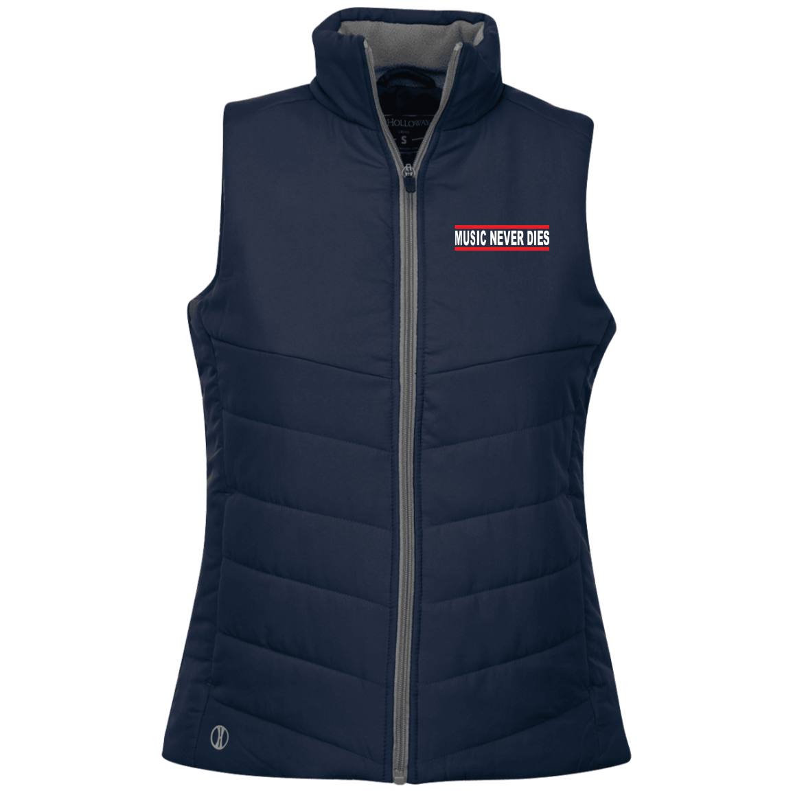 Music Never Dies Ladies' Quilted Vest