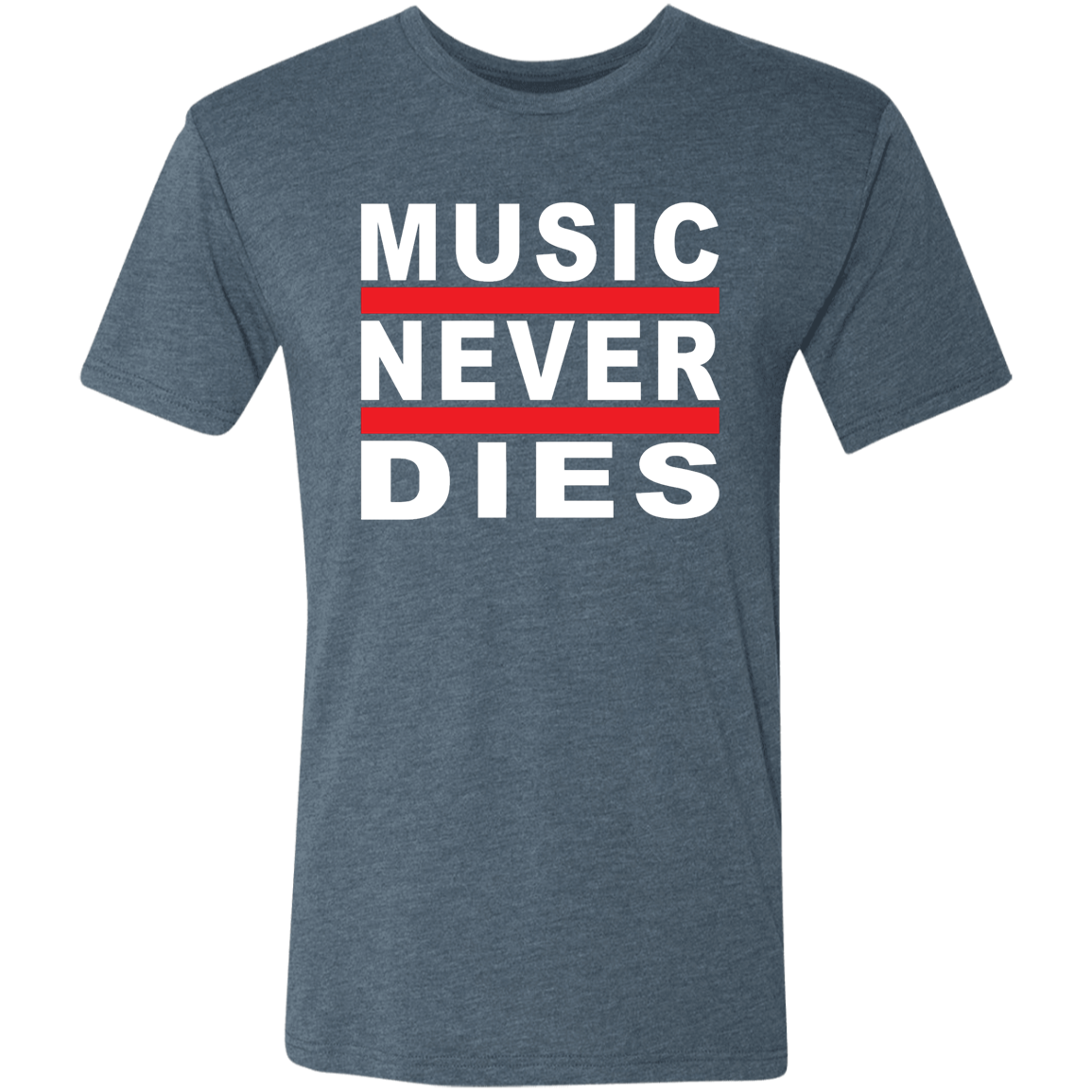 Music Never Dies - Men's Triblend T-Shirt