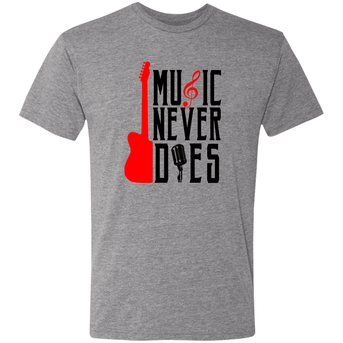 Music Never Dies Men's T-Shirt