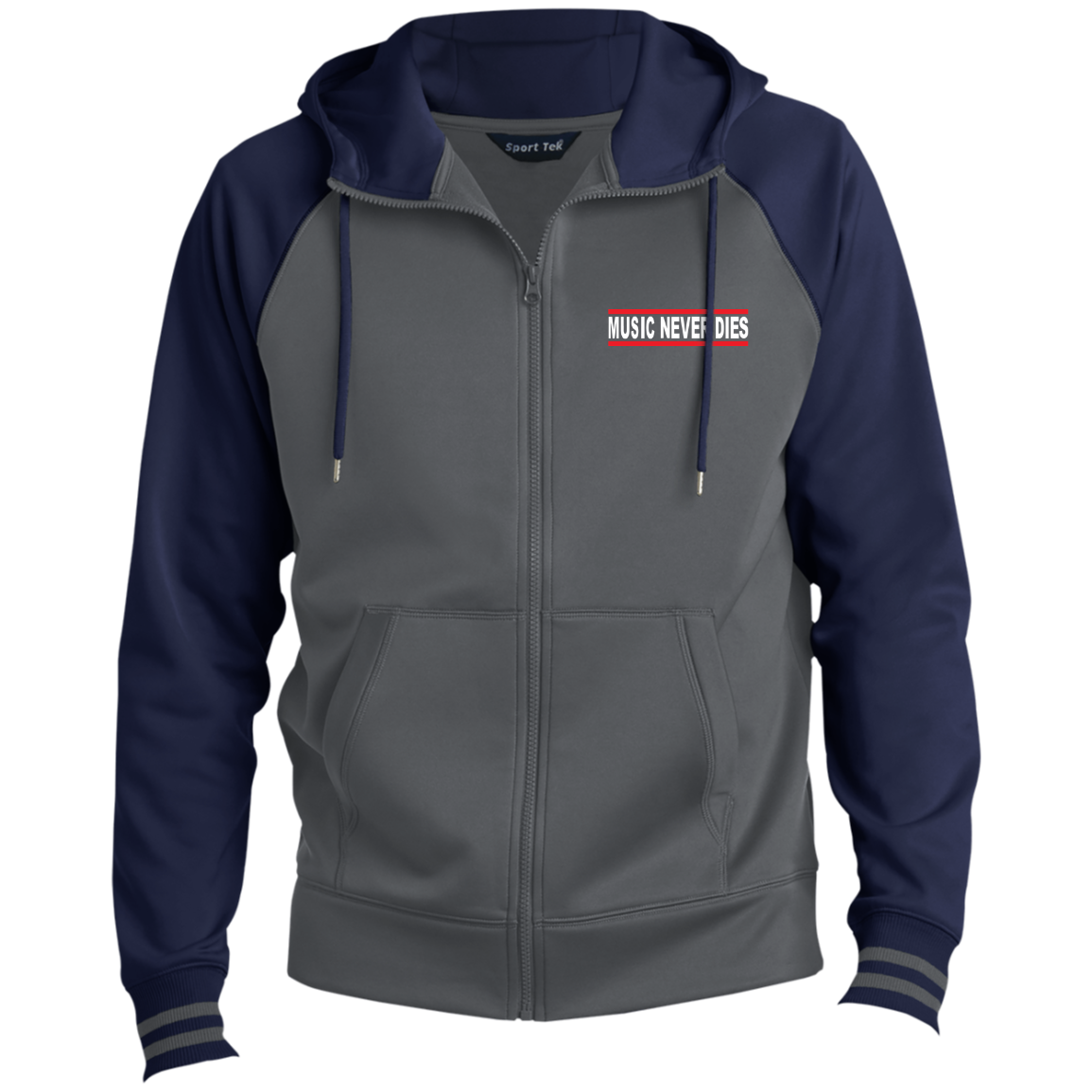 Men's Sport Full-Zip Hooded Jacket