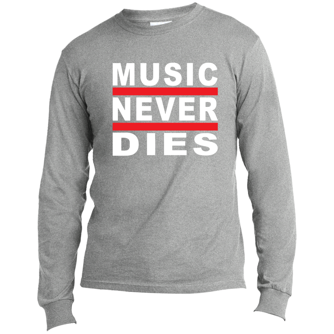 Music Never Dies LS Made in the US T-Shirt
