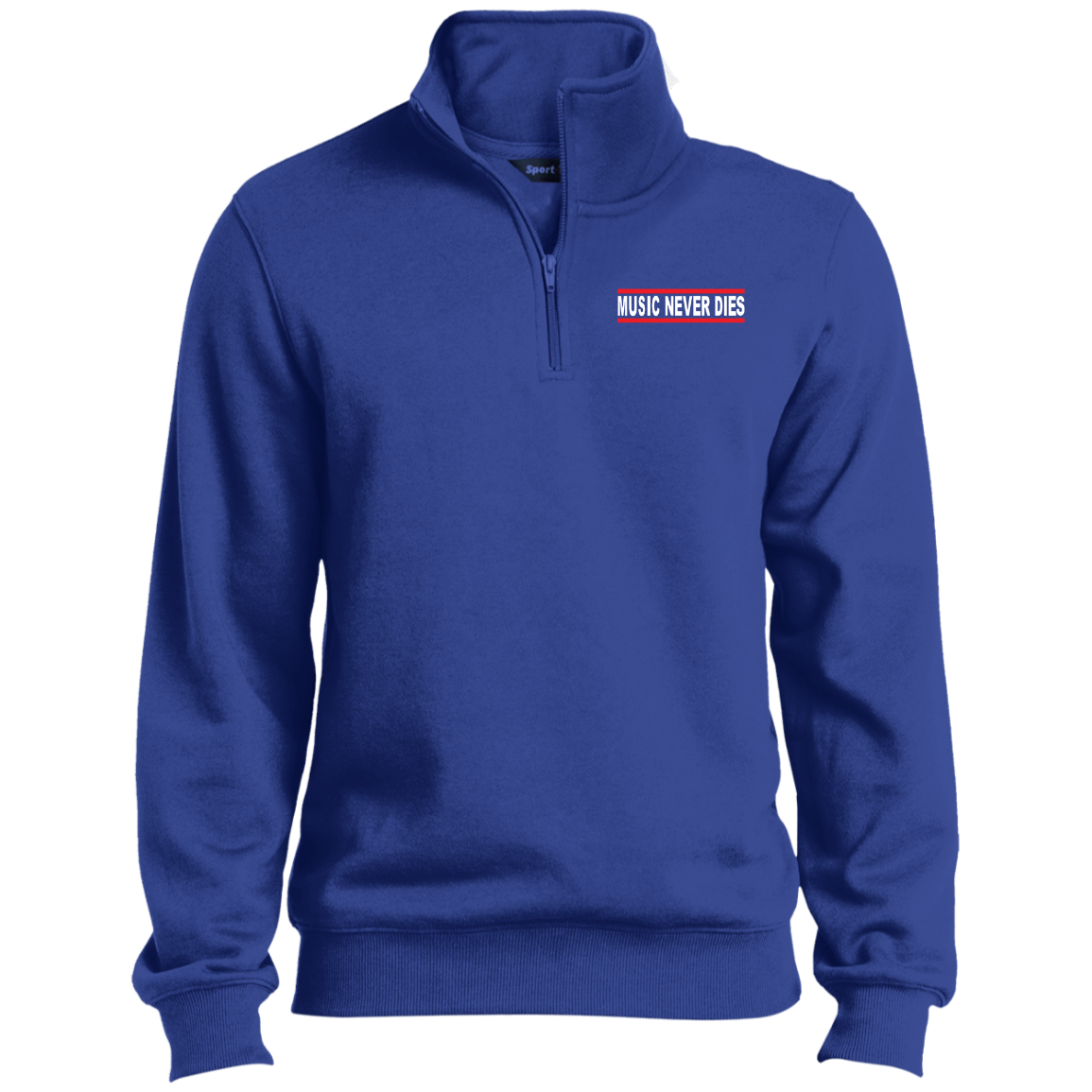 Mens Sport 1/4 Zip Sweatshirt