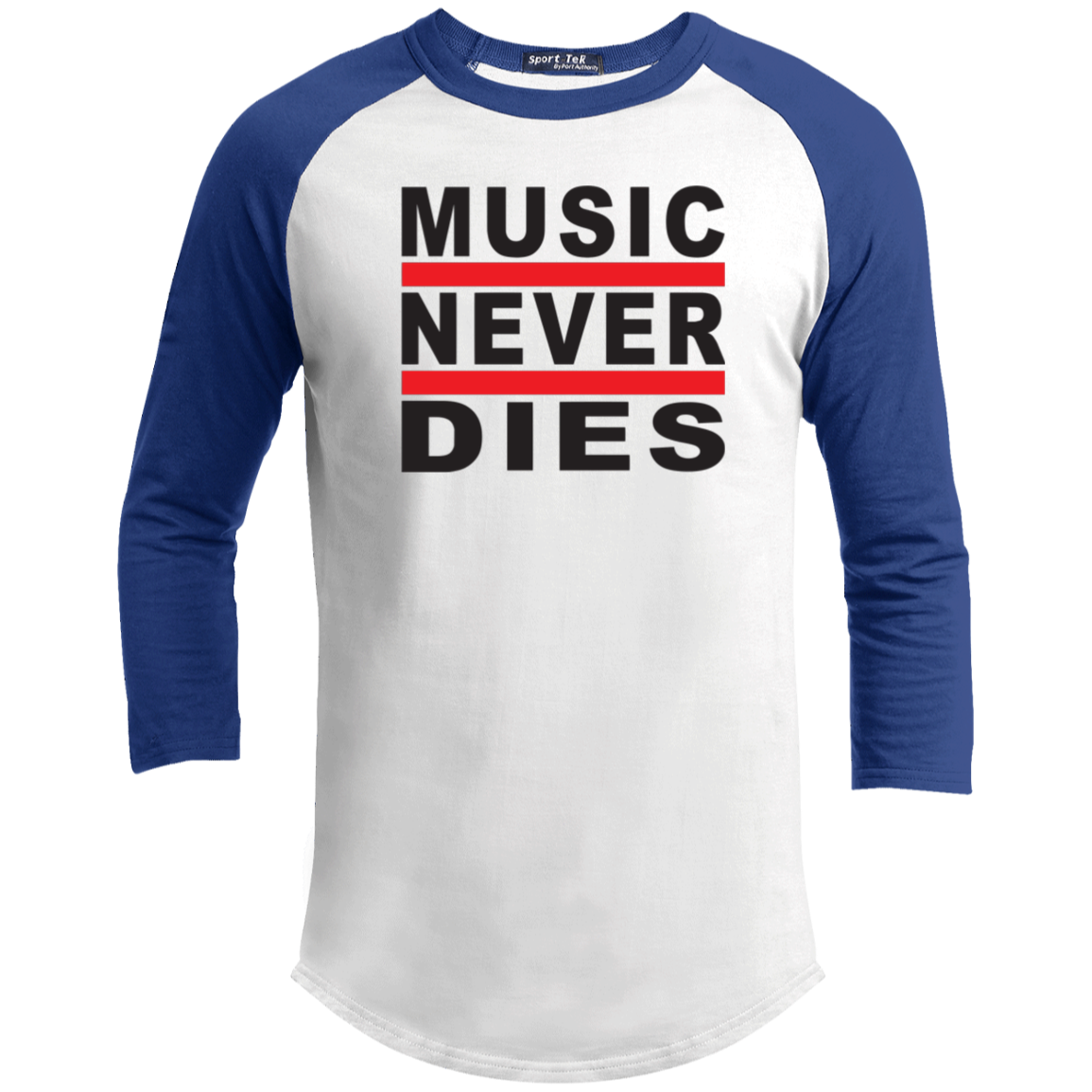 Music Never Dies - T200 Sport-Tek Sporty T-Shirt