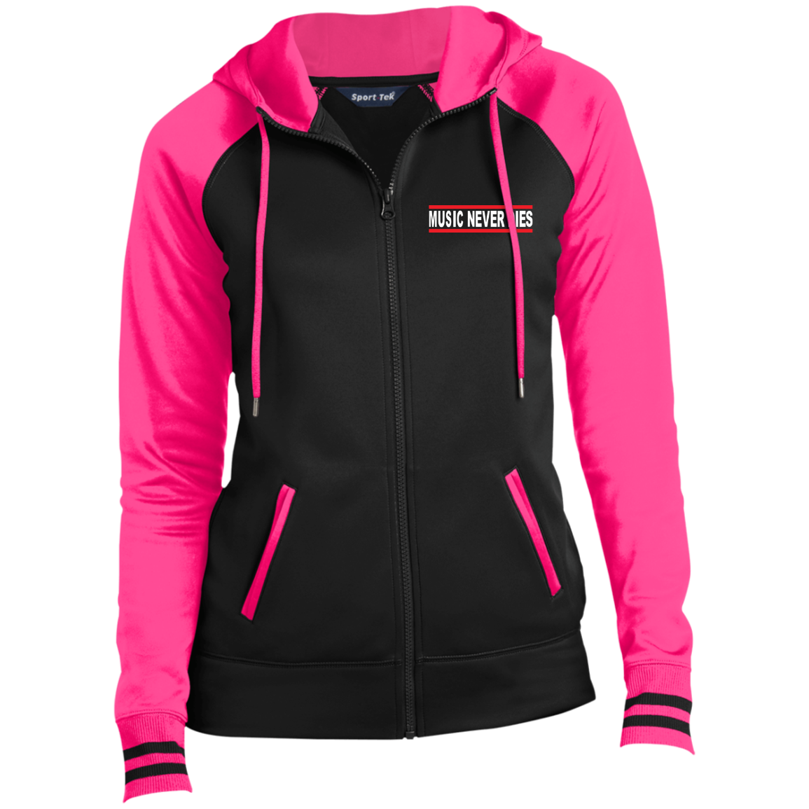 Ladies Sport Full-Zip Hooded Jacket