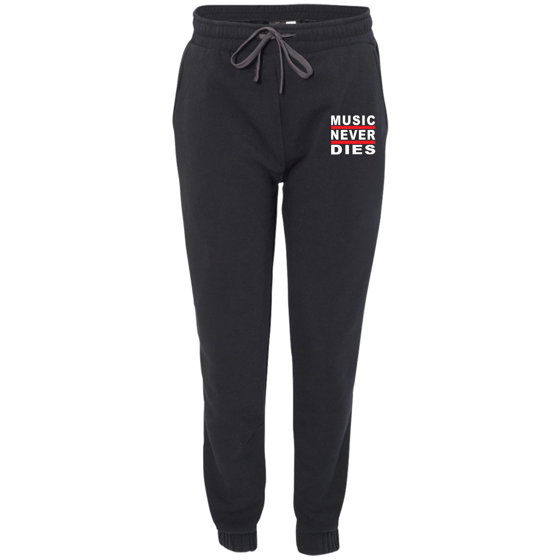 Music Never Dies Adult Fleece Joggers