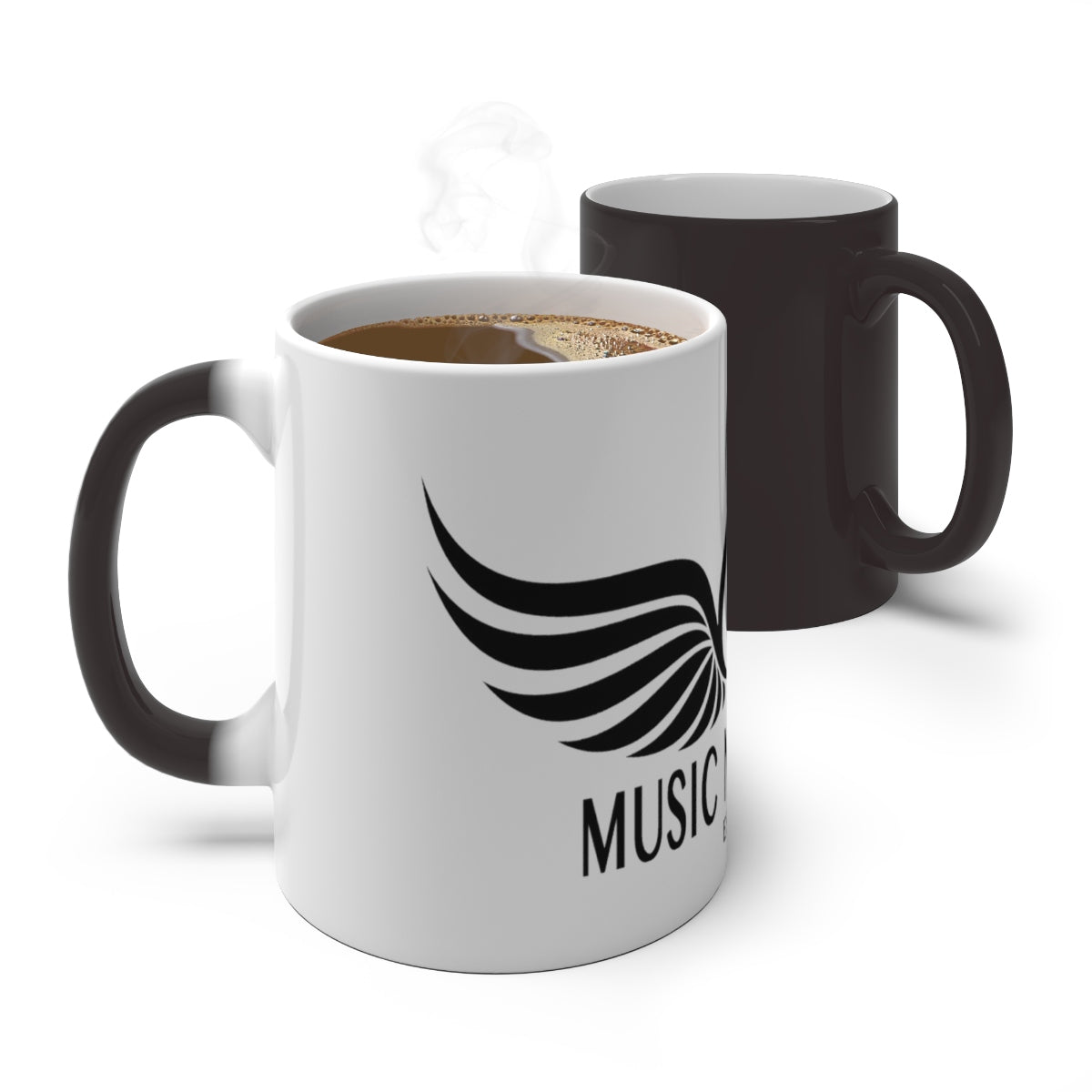 Music Never Dies Color Changing Mug