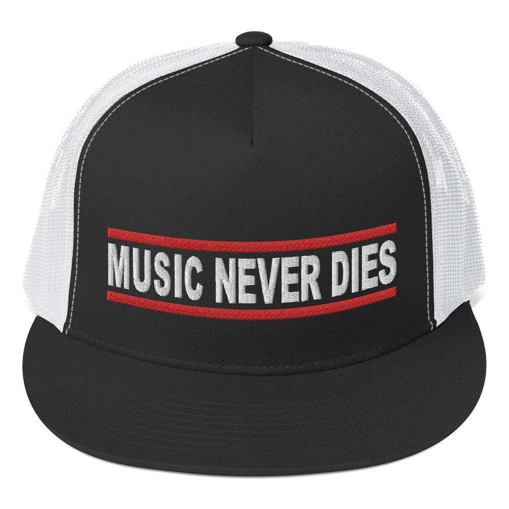 Music Never Dies Trucker Cap