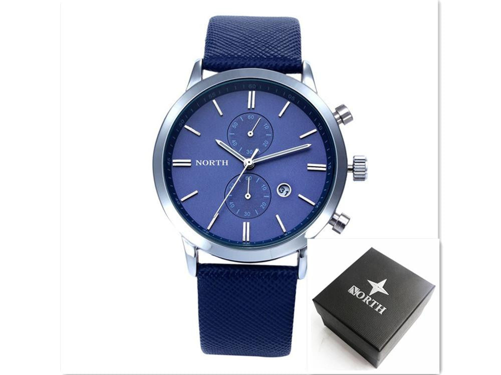 2016 Mens Watches Top Brand Luxury Quartz  Watch Casual Leather Sports Wrist watch Montre Homme Male Clock relogio masculino