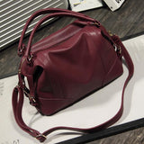 Soft  Leather Handbags Big Women Bag Zipper Ladies Shoulder Bag Girl Hobos Bags New Arrivals bolsa feminina 2016 Herald Fashion