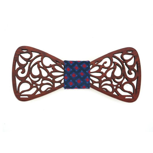 New Classic Hollow Wood Bow Ties for Mens Wedding Suits Wooden Bow Tie Butterfly Shape Bowknots Gravatas Slim Cravat Jewelry