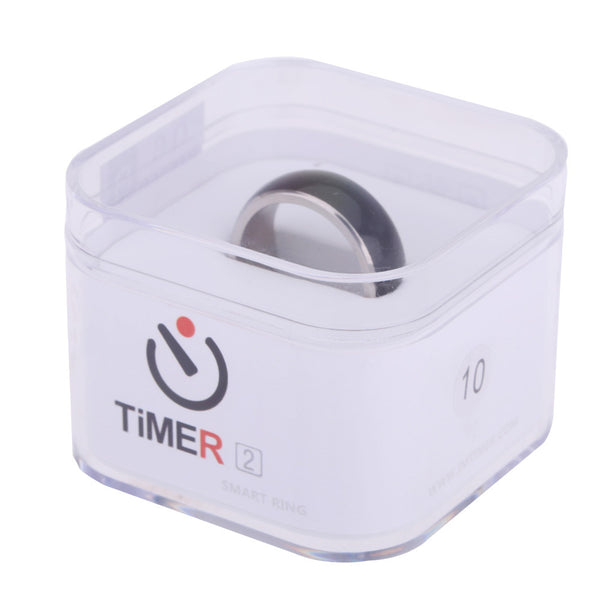 TimeR 2 Smart Ring IP68 Wearable Multifunction Dual Core Chip for NFC Android WP Smartphone Program Lock Business Card Share