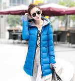 Wadded Clothing Female 2016 New Women's Winter Jacket Cotton Jacket Slim Parkas Ladies Coats Plus Size XS-XXL