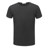 2016 Fashion Brand New T shirt Men's Shorts Sleeve O-neck Summer male Tops Tees Casual T-shirt For Man TX80-An-R1