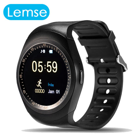 GW08 Bluetooth Smart Watch Call Message Smart Phone With USB Charging Phone Clock wristwatch for Android IOS