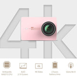 [International Version] Xiaomi YI 4KAmbarella A9SE Sports Camera 2 12MP- Rose Gold