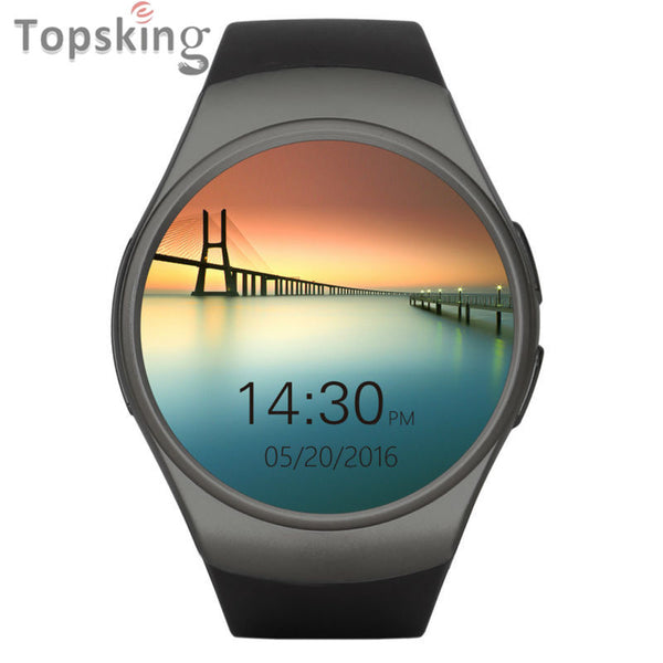 2017 Fashion Aplus Smart Watch KW18 Support SIM Card Bluetooth 4.0 Smart Clock High Quality for Apple IOS and Android Phone