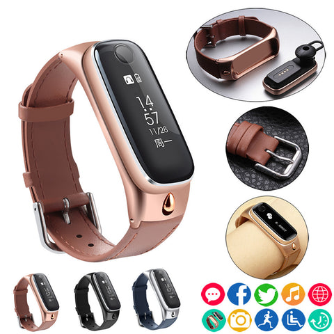 2017 High quality Suppion Smart Watch Bracelet Sports Smartband Wristband/Bluetooth Headset Earphone for IOS Android