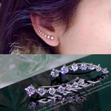 High quality of The new fashion Seven star all over the sky star zircon earrings new dipper hanging ears for woman