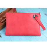 Fashion solid women's clutch bag leather women envelope bag clutch evening bag female Clutches Handbag free shipping ND001