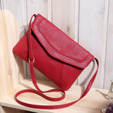 Casual Vintage Women Crossbody Messenger Bags Ladies Mujer Leather Envelope Handbag Clutches Purse Sling Shoulder Bag