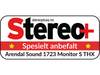 Arendal Sound 1723 Monitor S THX test - Stereo+
