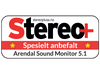 Arendal Sound 1723 5.1 System test, Stereo+