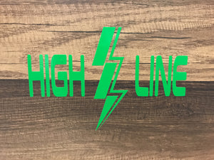 HIGHLINE Decal