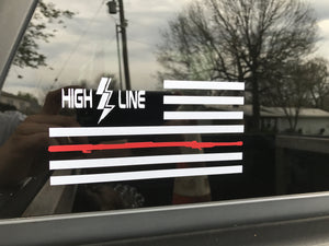 Hotstick Flag Decal