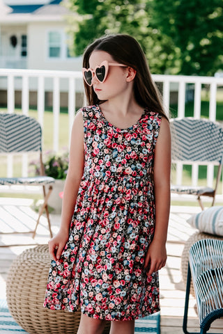 Fields of Flowers Tank Dress