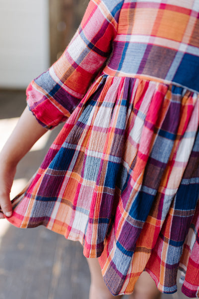 Janie Plaid Tunic