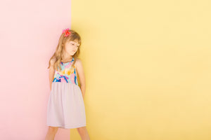 Kaleidoscope Pinafore (MADE TO ORDER ONLY)