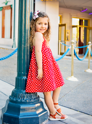 Elle Dress - Minnie Red