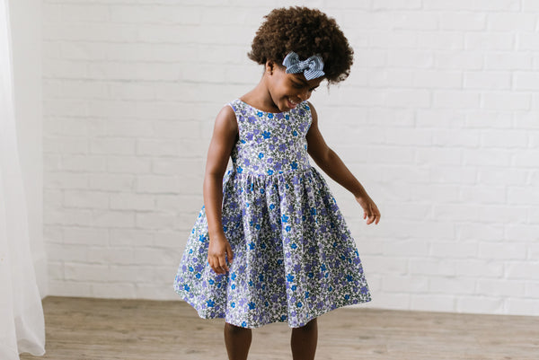 Picnic Dress in Blooming Belle