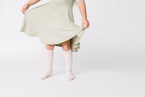 Twirl Dress- Spring Sage