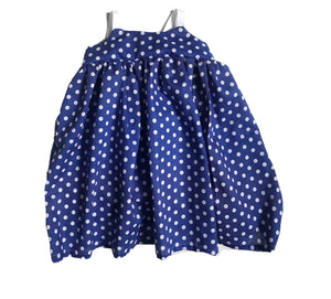 Elle Dress - Royal Dot