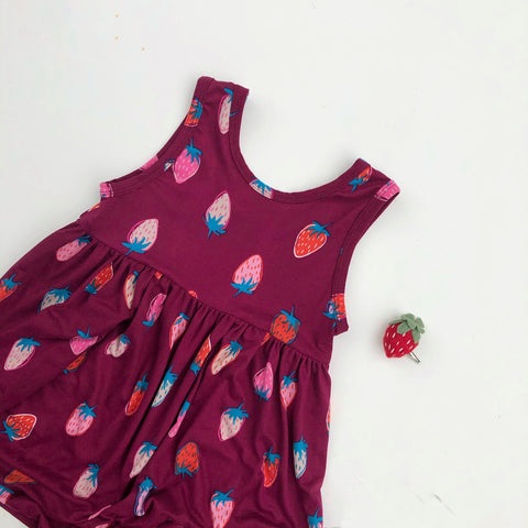 Strawberry Tank Dress