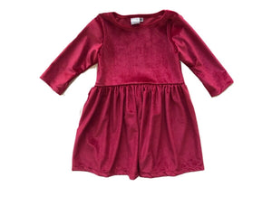 Velvet Tunic-Berry Pink (ready to ship)