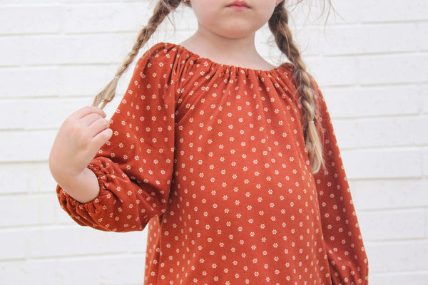 Smock Top Print-(Choose your print)