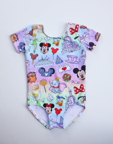 Disney Dreams Leotard-MADE TO ORDER