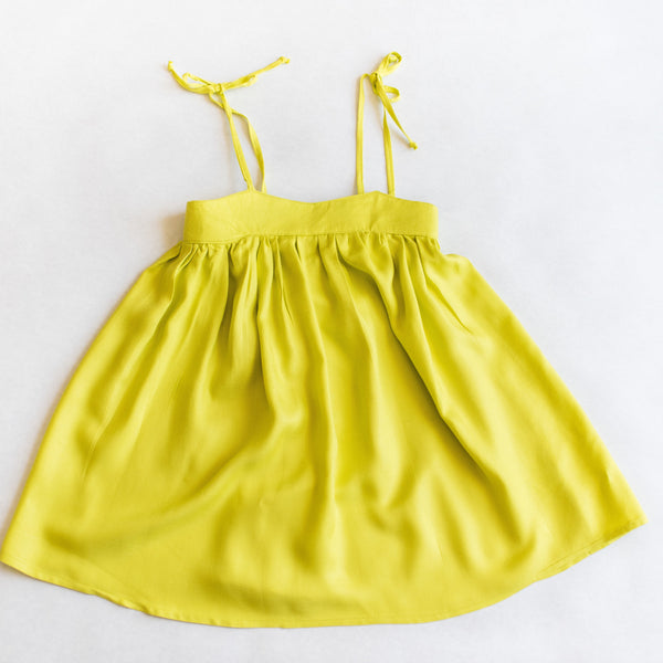 made to order- Chartreuse Elle Dress