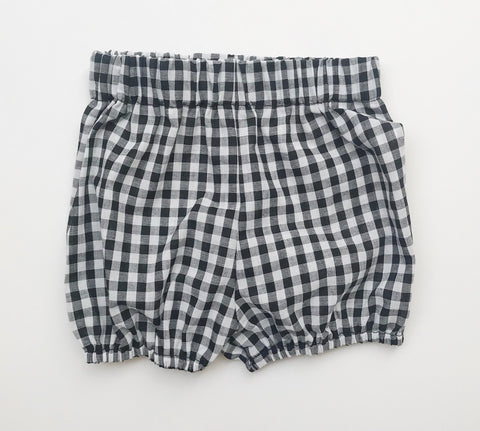 B/W Gingham Bloomers